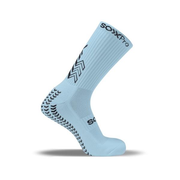 Soxpro Calze Grip & Anti slip Celeste