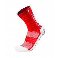 Trusox Calze Mid-Calf Thin 2.0 Rosso